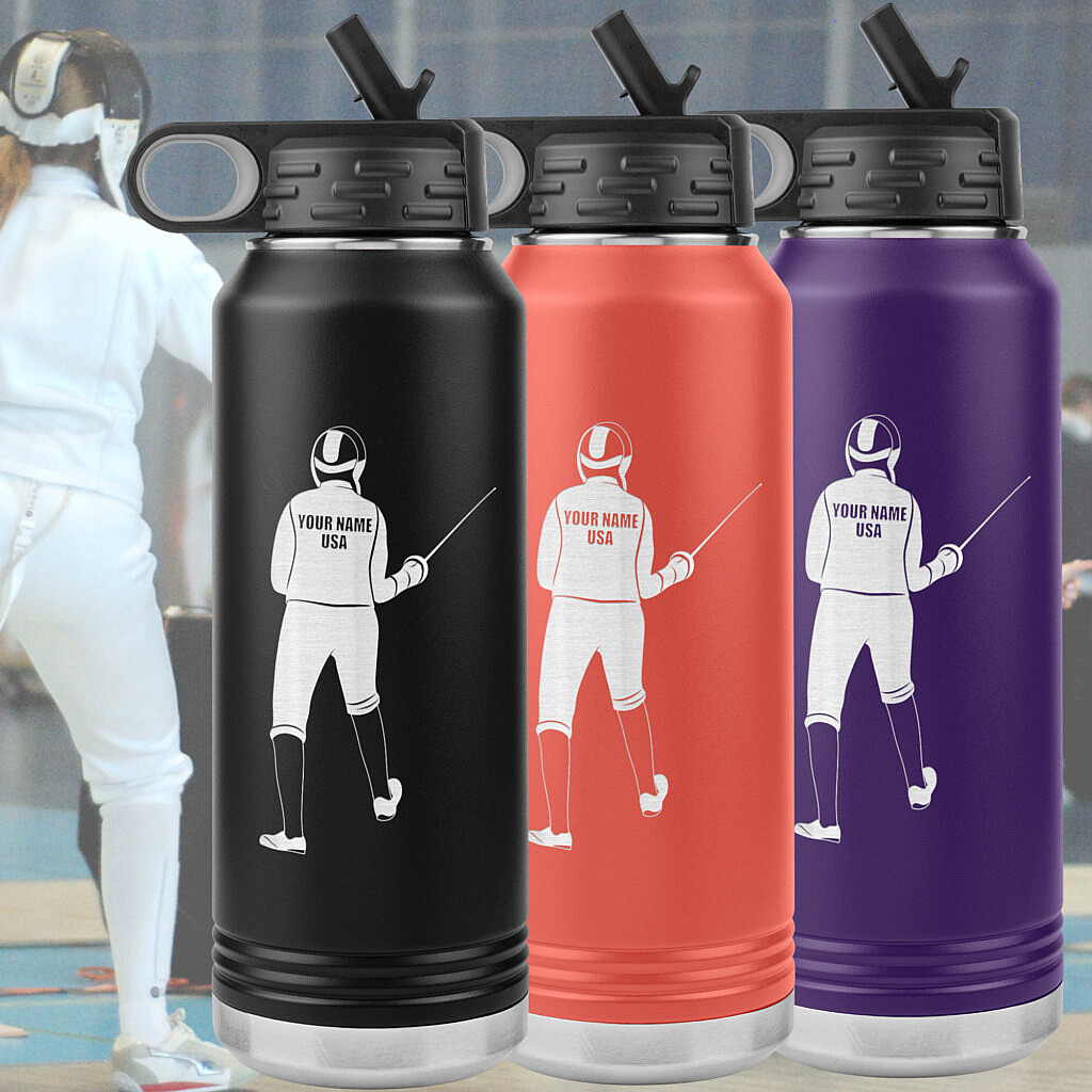 Fencing Mugs, Bottles and Tumblers